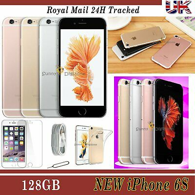 Apple iPhone 6S 128GB 64GB 32GB Factory Unlocked New Smartphone - Various Colour