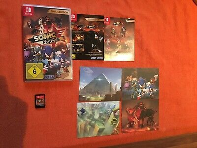 Nintendo Switch Sonic Forces Bonusedition