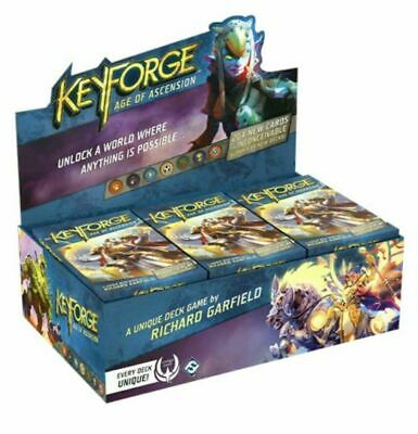 KeyForge Age Of Ascension Deck Display (12 ct) ~ In Stock sealed