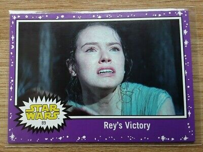 Star Wars Journey to the Last Jedi ~ PURPLE PARALLEL BASE CARD 89