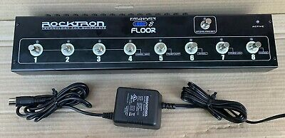 Rocktron Patchmate Loop 8 Floor   Programable Switcher  Switching  Loop Station