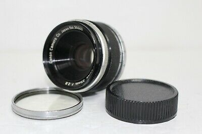 [Excellent+++]Canon M39 L39 LTM Leica Screw Mount 35mm f2.8 Lens f/s from Japan