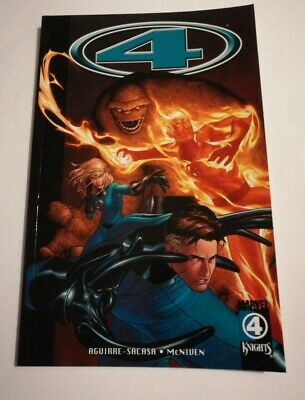 FANTASTIC FOUR Marvel Knights 4 Vol.1: Wolf At The Door TPB