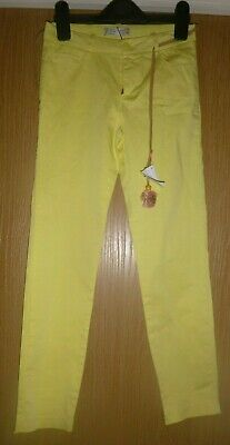 BNWT Girls Yellow Trousers Zara Age 9-10 years New