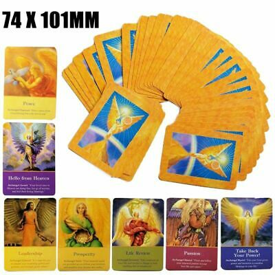 Magic Archangel Oracle Cards Earth Fate Tarot Card 45 Card Deck With Guidebook