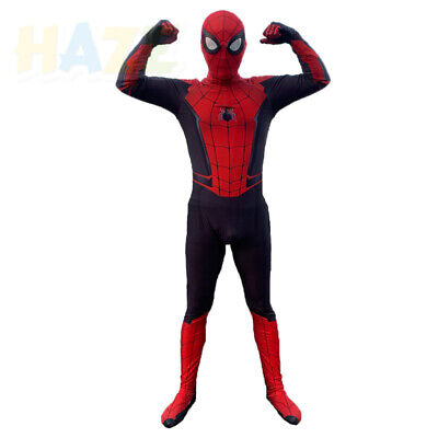 Spider-Man: Far From Home Kids Cosplay Costume 3D Printed Zentai Halloween Suit
