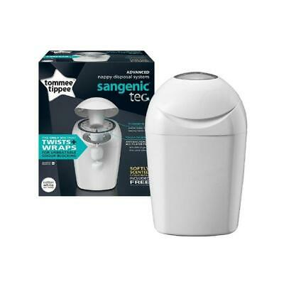 Tommee Tippee Sangenic Baby Nappy Diaper Disposal System & 1 Refill Citrus Bags