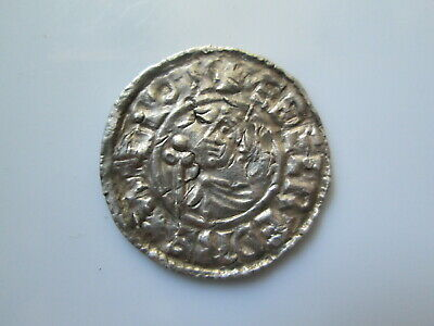 ENGLAND 11 century Anglo-Saxon penny, Aethelred II  PVILVTEL MO EOFN