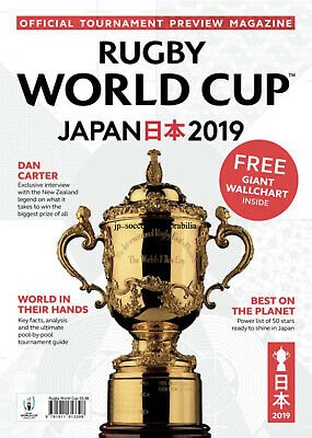 Rugby World Cup 2019 Official Tournament Magazine - 02 August 2019 - In Stock