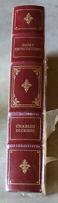 Vintage NOS Great Expectations Charles Dickens The Franklin Library 1979