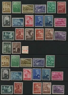 TURKEY: Sg 1310-Sg 1320 Examples - Ex-Old Time Collection - 2 Sides Page (25421)