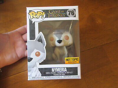 Funko Pop Game Of Thrones Nymeria # 76 Exclusive Hot Topic -  As Photos Deal