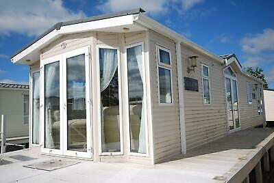 BK Senator Static caravan for sale off site 13ft x 40ft DG CH All Electric
