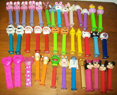 MIXED LOT 39 PEZ 1990'S-CURRENT, Star Wars, Holidays, Disney, Mets, Muppets