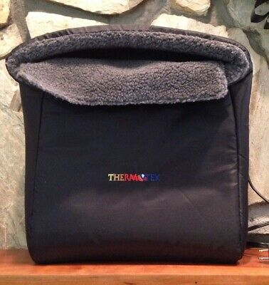 Thermotex foot system infarad heating pad 2 Settings Clean Washable Pain Relief
