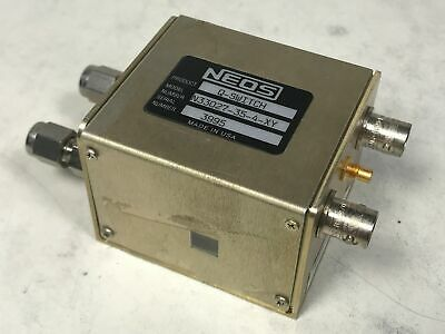 NEOS Q-Switch w/ Dual Axis for 1064nm Nd:YAG Lasers w/ 4mm Dia N33027-35-4-XY