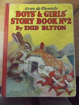 News Chronicle Boys And Girls Story Book Number 2 By Enid Blyton Hardback Book