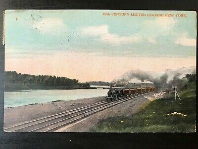 Vintage Postcard>1911>20th Century Limited >New York