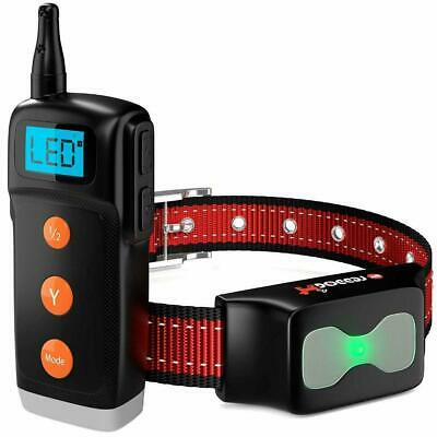 Dog Training Collar - New Upgraded Shock Collar with Remote - Waterproof 1000 ft