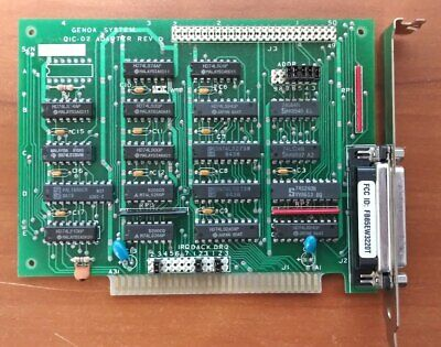 Genoa System Tape controller card  QIC-02 Adapter Rev D
