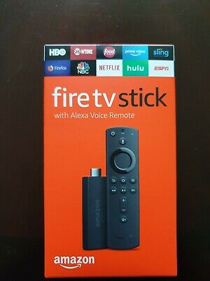 Amazon Fire TV Stick 2019 with Alexa Voice Remote 2nd Gen Streaming Media Player