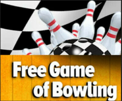Buy one get one  Game of Bowling GoBowling.com - Digital Promo Code