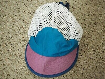 f3539cbf VINTAGE PATAGONIA DUCK Bill 5 Panel Running Hat Rare 90's Size Small ...