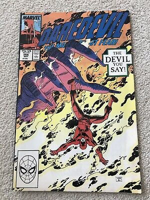 Daredevil # 266 Vfn- Mephisto Nocenti John Romita Jr Williamson Marvel