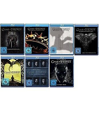 Game of Thrones: The Complete Seasons 1-7 DVD Blu Ray READ DESCRIPTION