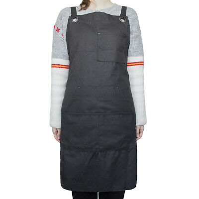Durable Canvas Tool Work Apron Heavy Duty for Woodworking Welding Workshop