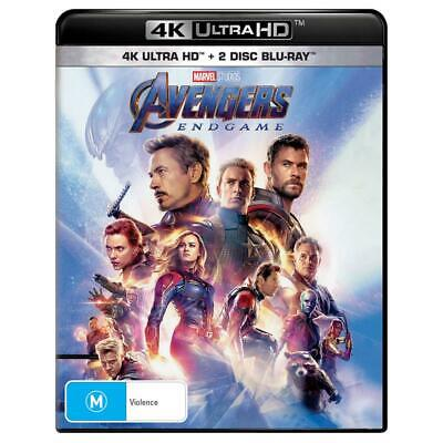 Avengers: Endgame 4K Ultra HD/ 2 Bluray - NEW & SEALED - RELEASE DATE 14.08.2019