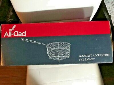 All-Clad Gourmet Accessories Fry Basket New