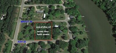 Land for Sale Next to River with Lakes in MI - Power & Natural Gas NO RESERVE