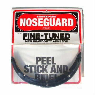 SNOWBOARD NOSE GUARD Kit, Tip & Tail Protector, Great Item for Snowboards, Black