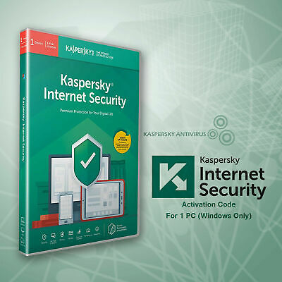Kaspersky Internet Security 2019 - 1 Pc - [360 Days] + Free Kis Android 1 Device