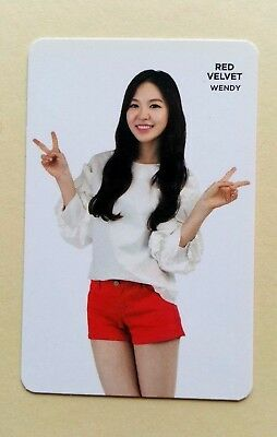 Red Velvet SMTOWN COEX Artium OFFICIAL FORTUNE COOKIE PHOTOCARD -  Wendy
