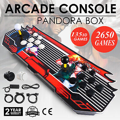 Pandora Box 7S 109 3D & 2253 2D Games in 1 Home Arcade Console 1080P HDMI USB