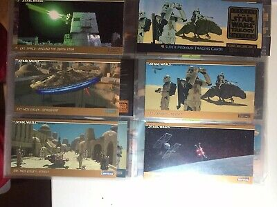 Star Wars Topps Widevision Card 1997