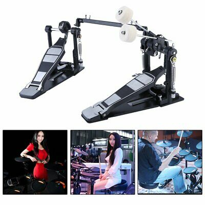 High quality Drums Pedal Double Bass Dual Foot Kick Percussion Drum Set MY