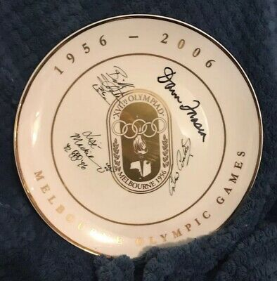 Olympic Games Collectable 1956 - 2006 Melbourne Memorabilia Signed Dawn Fraser
