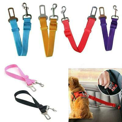 Cat Dog Pet Safety Car Vehicle Strap Seat Belt Adjustable Lead Harness Top R5Y3