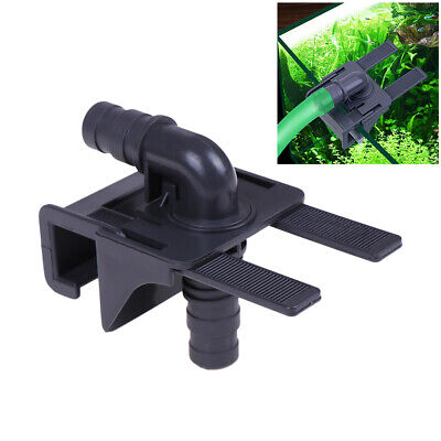 Fish Tank Water Pipe Mont Holder Connecteur Afflux Outflow SFRetchable *FR