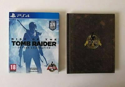 Rise of The Tomb Raider Artbook Edition PS4 SAME DAY Dispatch [Order By 4pm]