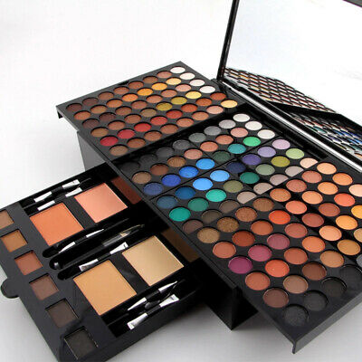 190 Colors Eye Make Up Kit Professional MISS ROSE Makeup Set Eye Makup Palette