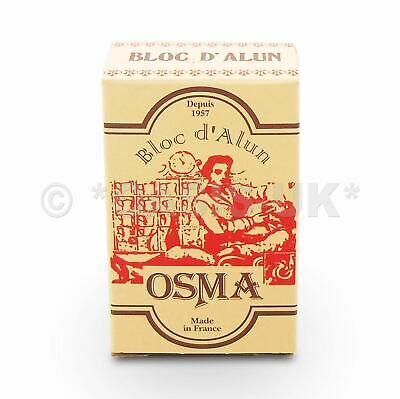 Osma ALUM BLOCK 75g after shave, stops bleeding, reduce irritation, for men