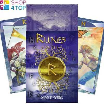 Runes Oracle Cards Deck Norse Gods Esoteric Telling Lo Scarabeo New
