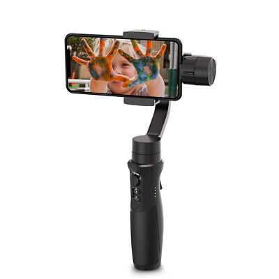 Hohem ISteady Plus Mobile Stabilizer 3-Axis Gimbal Auto-Face Tracking Shooting