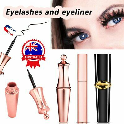 Magnetic Liquid Eyeliner No Glue Long Lasting Fast Drying Makeup Easy Use VW