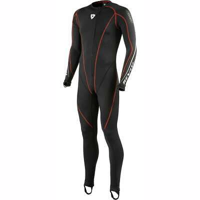 Rev'It Motorcycle Polyester Black Undersuit Race Suit Base Layer New