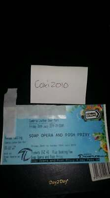 Kendal calling 2019 Soap Opera and Posh Privy Ticket (SOLD OUT) No Reserve!!!